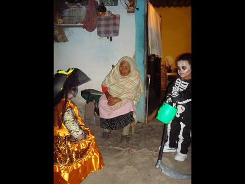 Noche de Halloween en San Miguel Octopan