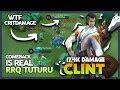 It's Insane WTF Critical Damage! Comeback Clint by RRQ'Tuturu 'One Shot You Dying' ~ MLBB MP3