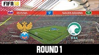 Fifa 18 World Cup - Russia vs Arab Saudi @Luzhniki Stadium | Gameplay