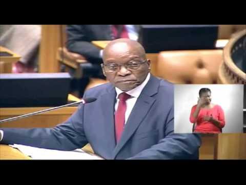 EFF confronts Jacob Zuma on Nkandla
