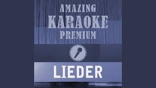 Lieder Premium Karaoke Version Originally Performed By Adel Tawil