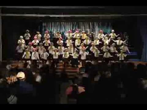 Mission Bay Montessori Academy Christmas Show 2012 - Singing Christmas Carols Live Performance - 11/29/2013