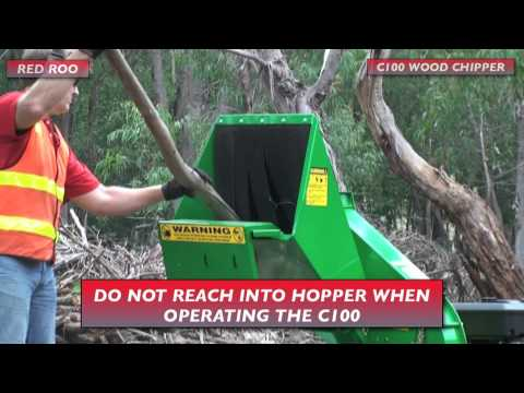 Red Roo: Hire a Woodchipper