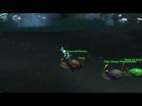 World of Warcraft's Snail Racing 2: Zoom's Second Chance!