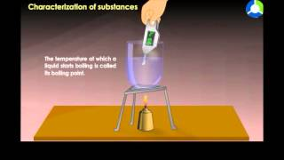 Characterization of Substances