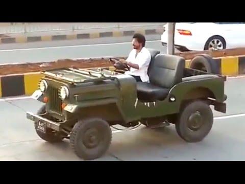(VIDEO)Shahrukh Khan RAEES Shooting - Riding JEEP In Mumbai - LEAKED thumbnail