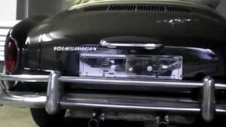 1969 Karmann Ghia Convertible, beautiful exhaust sound