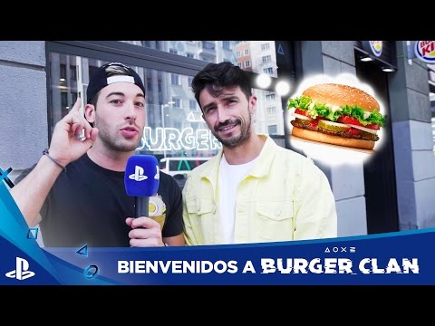 Llega la LOCURA con BURGER CLAN | PlayStation Plus + Burger King
