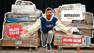 I Paid $1,250 for $11,736 Worth of MYSTERY TECH!! Amazon Returns Pallet Unboxing!