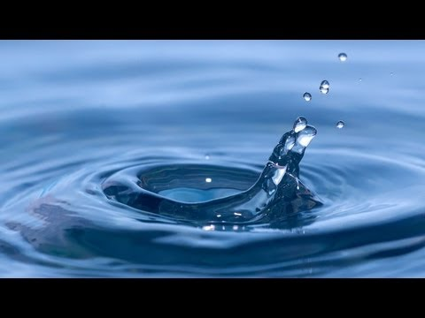 water drops slow motion   youtube