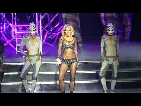 Britney Spears - Work Bitch Live - Piece Of Me - Oct 4 2014 planethollywood, Las Vegas. video