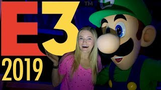E3 2019! Real life Luigi's Mansion!