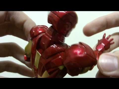 Review Iron Man Mark VI SCI-FI Revoltech Series No.024 by Vitor Valeri