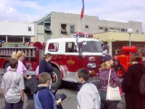 Sir ne de camion de pompier am ricain youtube - Lit camion de pompier ...