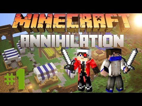 Minecraft: PVP Survival - Annihilation - #1 - С Демастером!