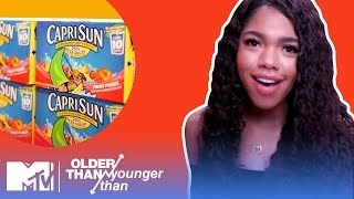Which Came First: Teala Dunn or Capri Sun? | Older Than / Younger Than