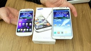 Samsung Galaxy Note 2 Unboxing & Demo! (with Galaxy S3 Comparison)