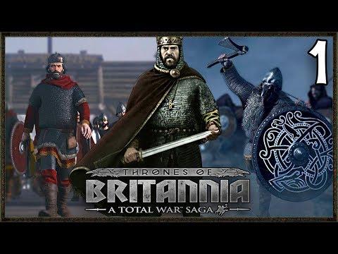 THE LAST KINGDOM! - Wessex Campaign - Total War Saga: Thrones Of Britannia Gameplay #1