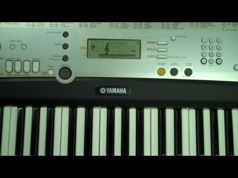 Yamaha Portatone Keyboard- Lot 8