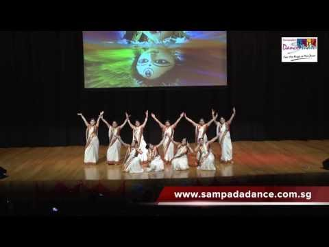 Dola Re Dola - Sampada's Dance Studio Annual Show - Movie Devdas - Bollywood Dance Singapore video