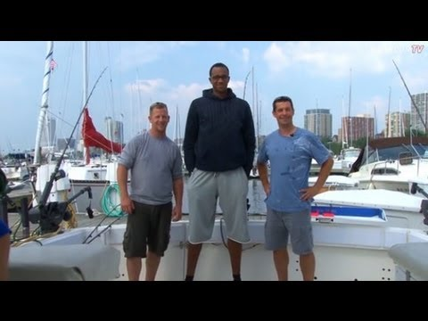 John Henson Goes Fishing With A Bucks Fan