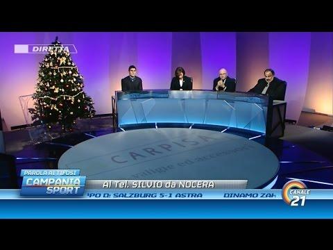Campania Sport (parola ai tifosi) post Napoli-Slovan Bratislava 3-0 - Canale 21 11/12/14