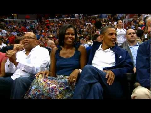 Phantom: LeBron's Dunk Commands the Attention of the President!