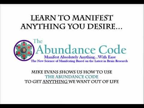 The Abundance Code By Mike Evans | Manifesting Your Desires With The Abundance Code