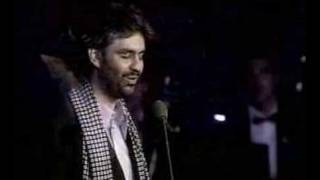 Watch Andrea Bocelli Con Te Partiro video