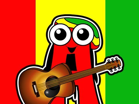 letters Of The Alphabet - Reggae Abcs, Bob Marley For Babies, Super Simple Kids Song video