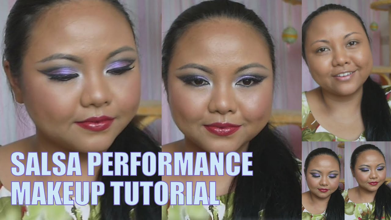Salsa Dance Performance Makeup