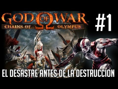 "El desastre antes de la Destruccion - God Of War ""Chains Of the Olimpus"" #1 thumbnail"