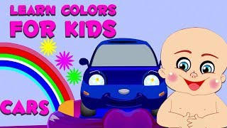Play And Learn Colors For Kids With Baby Game | Learning Colors With Cars | Baby Playing Funny Games