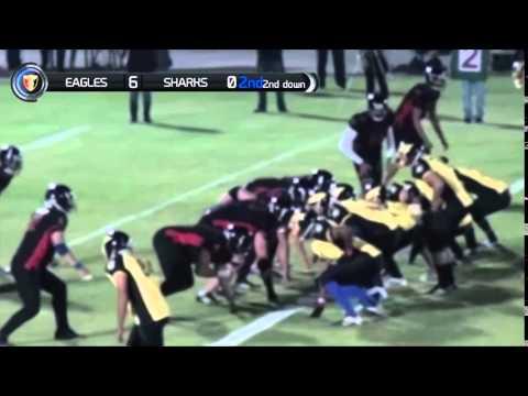 ELAF Season 2013/2014 Game: GUC Eagles VS Cairo Sharks (Clash of the Pharaohs)