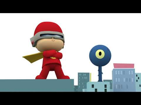 NEW: Pocoyo Super Flash Hero!!  / NUEVO: ¡Pocoyó Super Héroe Flash!