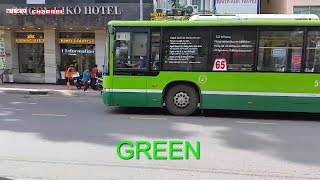 Learn color with Bus 🚌 Tayo the little bus 🚌 Xe buýt thiếu nhi 🚌 Nursery rhymes for children #14