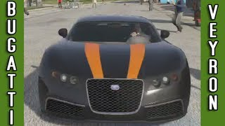 GTA V: How to get the Bugatti Veyron / Adder - Secret Car #1 (Best / Fastest Car Grand Theft Auto 5)