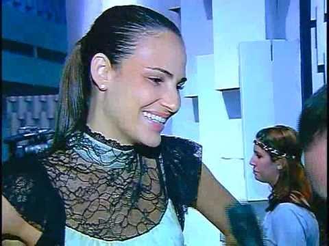 Fernanda Tavares inverno 2010 no SPFW, por Francisco Chagas no programa de moda Over Fashion