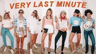 VERY LAST MINUTE halloween costumes!! (with stuff you already have)