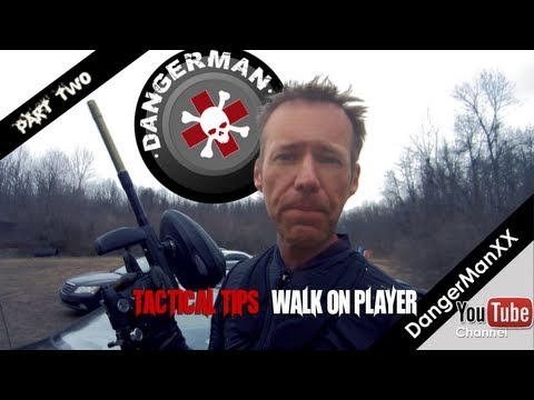 HOW TO: Play as a walk-on paintball player - Advanced Paintball Tips - PART 2