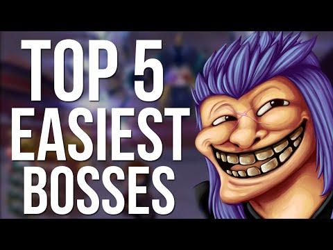 Kingdom Hearts Top 5 Easiest Bosses