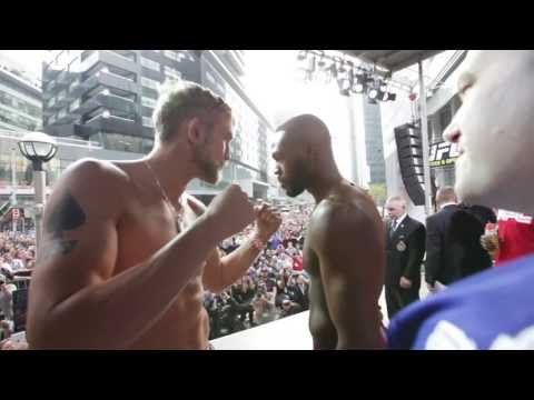UFC 165 Main Event Weighin Highlight
