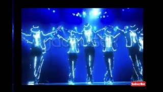 Michael Jackson light show en Japon