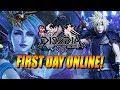 FIRST DAY ONLINE! Final Fantasy Dissidia NT - Online Beta