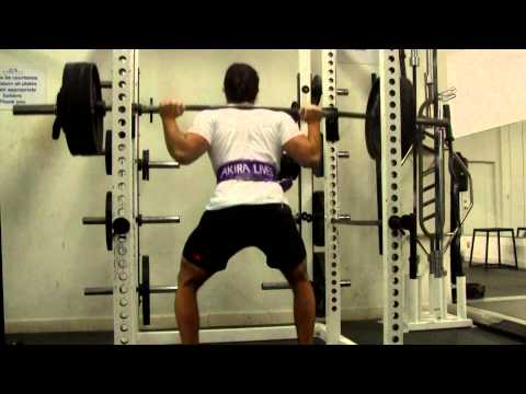 LEG Workout: Training for Strength ( Nov. 29th 2012 Squat Routine) Image 1