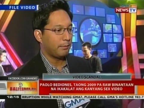 Bt: Paolo Bediones, Taong 2009 Pa Raw Binantaan Na Ikakalat Ang Kanyang Sex Video video