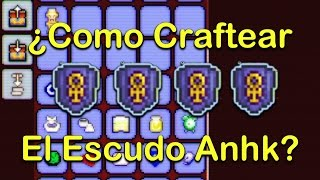 Terraria Movil 1.2 ¿Como Craftear El Escudo Anhk? [ANHK SHIELD]