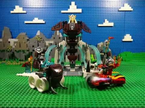 LEGO LEGENDS OF CHIMA 2015 FIRE VS ICE 70226 MAMMOTH'S FROZEN STRONGHOLD