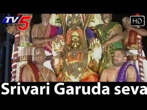 Srivari Garuda seva Brahmotsavam,live from Tirumala -  TV5