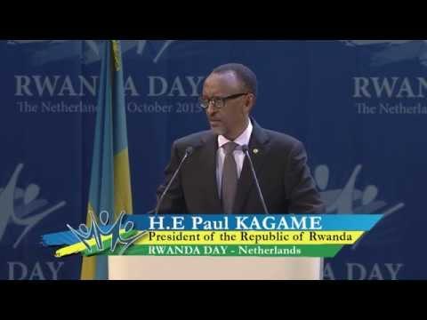 President Kagame at Rwanda Day - Netherlands, 3 October 2015